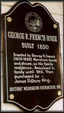 George R French   The French House Bed and Breakfast